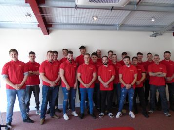 Moor Training are proud to welcome 22 new apprentices.